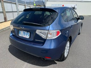 2010 Subaru Impreza G3 MY11 R AWD Blue 4 Speed Sports Automatic Hatchback