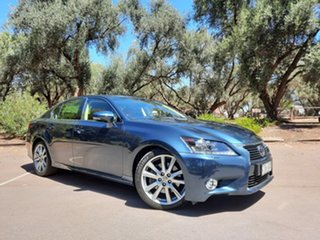 2013 Lexus GS GWL10R GS450h Sports Luxury Blue 8 Speed Constant Variable Sedan Hybrid.