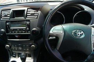 2010 Toyota Kluger GSU45R KX-S (4x4) White 5 Speed Automatic Wagon