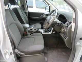 2012 Nissan Navara D40 MY12 ST (4x4) Silver 6 Speed Manual Dual Cab Pick-up