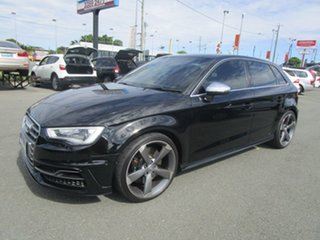 2015 Audi S3 8V MY15 Sportback S Tronic Quattro Black 6 Speed Sports Automatic Dual Clutch Hatchback.