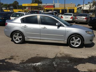 2005 Mazda 3 BK10F1 Maxx Sport Silver 5 Speed Manual Hatchback.
