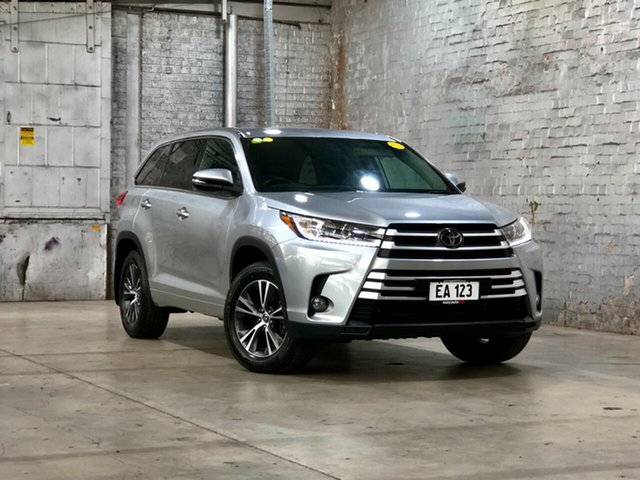 Used Toyota Kluger GSU55R GX AWD Mile End South, 2018 Toyota Kluger GSU55R GX AWD Silver 8 Speed Sports Automatic Wagon