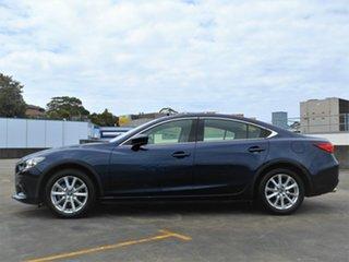 2017 Mazda 6 GL1031 Sport SKYACTIV-Drive Blue 6 Speed Sports Automatic Sedan