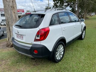 2014 Holden Captiva CG MY15 5 LT White 6 Speed Sports Automatic Wagon
