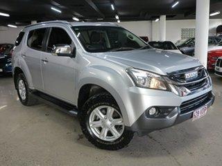 2014 Isuzu MU-X MY15 LS-U Rev-Tronic Silver 5 Speed Sports Automatic Wagon.