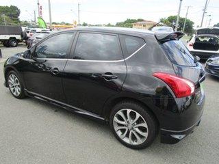 2015 Nissan Pulsar C12 Series 2 SSS Black 1 Speed Constant Variable Hatchback.