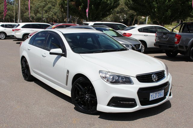 Used Holden Commodore VF MY14 SS Phillip, 2014 Holden Commodore VF MY14 SS White 6 Speed Sports Automatic Sedan