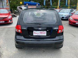 2005 Hyundai Getz TB GL Black 5 Speed Manual Hatchback