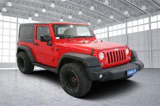 2014 Jeep Wrangler JK MY2015 Sport Firecracker Red 6 Speed Manual Softtop.