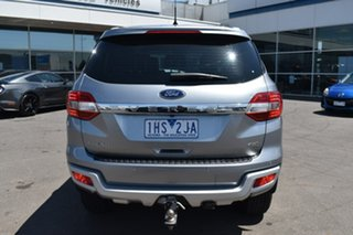 2016 Ford Everest UA Trend Silver, Chrome 6 Speed Sports Automatic SUV