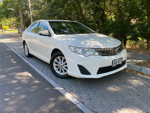 Used Toyota Camry ASV50R Altise Hawthorn, 2013 Toyota Camry ASV50R Altise White 6 Speed Sports Automatic Sedan