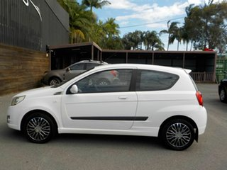 2008 Holden Barina TK MY09 White 4 Speed Automatic Hatchback.