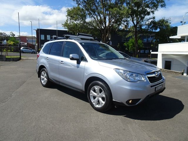 Used Subaru Forester S4 MY15 2.5i-L CVT AWD Nowra, 2015 Subaru Forester S4 MY15 2.5i-L CVT AWD Silver 6 Speed Constant Variable Wagon