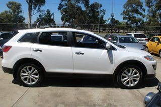2012 Mazda CX-9 MY13 Grand Touring White 6 Speed Auto Activematic Wagon.
