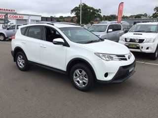 2013 Toyota RAV4 ASA44R GX AWD White 6 Speed Sports Automatic Wagon.