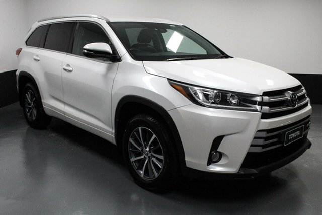 Used Toyota Kluger GSU50R GXL 2WD Rutherford, 2019 Toyota Kluger GSU50R GXL 2WD White 8 Speed Sports Automatic Wagon