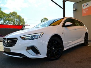 2018 Holden Commodore ZB MY18 RS Sportwagon White 9 Speed Sports Automatic Wagon