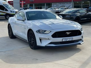 2019 Ford Mustang GT White Sports Automatic Fastback.
