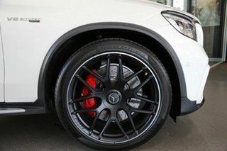 2018 Mercedes-Benz GLC-Class X253 809MY GLC63 AMG SPEEDSHIFT MCT 4MATIC+ S White 9 Speed