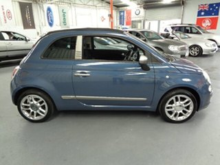 2011 Fiat 500C Series 1 By DIESEL Dualogic Blue 5 Speed Sports Automatic Single Clutch Convertible