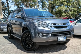 2017 Isuzu MU-X MY16.5 LS-U Grey 6 Speed Manual Wagon.