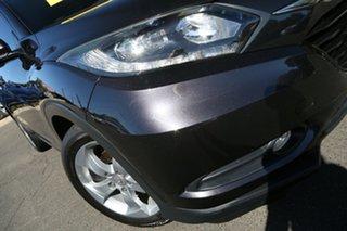 2015 Honda HR-V MY15 VTi-S Ruse Black 1 Speed Constant Variable Hatchback.