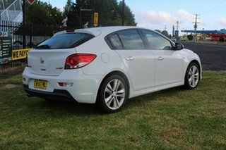 2013 Holden Cruze JH Series II MY14 SRi-V White 6 Speed Sports Automatic Hatchback