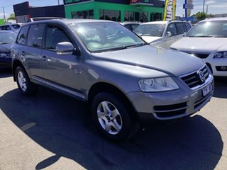 2006 Volkswagen Touareg 7L MY05 R5 TDI 4XMOTION Silver 6 Speed Sports Automatic Wagon.
