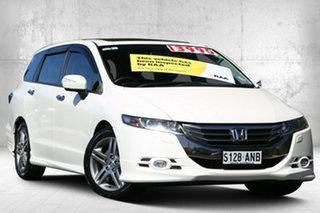 2011 Honda Odyssey 4th Gen MY12 Luxury Premium White 5 Speed Sports Automatic Wagon.