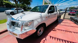 2012 Toyota Hilux KUN16R MY12 SR Xtra Cab 4x2 White 5 Speed Manual Utility.