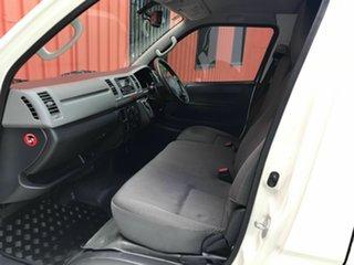 2013 Toyota HiAce TRH201R MY12 LWB White 4 Speed Automatic Van