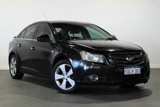 2010 Holden Cruze JG CDX Black 5 Speed Manual Sedan.