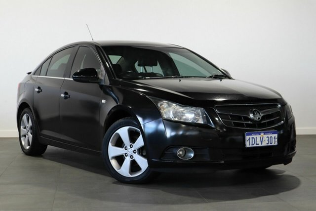 Used Holden Cruze JG CDX Bayswater, 2010 Holden Cruze JG CDX Black 5 Speed Manual Sedan