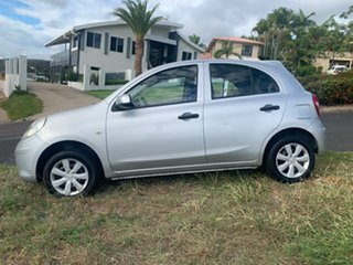 2011 Nissan Micra Silver Automatic Hatchback
