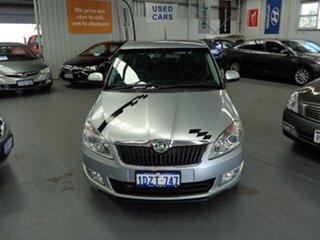 2011 Skoda Fabia 5JF 77TSI Silver 5 Speed Manual Hatchback.