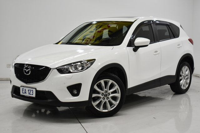 Used Mazda CX-5 KE1021 MY13 Akera SKYACTIV-Drive AWD Brooklyn, 2013 Mazda CX-5 KE1021 MY13 Akera SKYACTIV-Drive AWD White 6 Speed Sports Automatic Wagon