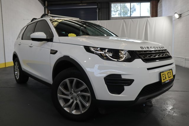 Used Land Rover Discovery Sport L550 17MY TD4 180 HSE Castle Hill, 2016 Land Rover Discovery Sport L550 17MY TD4 180 HSE White 9 Speed Sports Automatic Wagon
