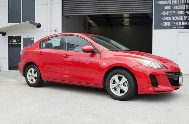 Used Mazda 3 BL10F2 MY13 Neo Activematic Capalaba, 2013 Mazda 3 BL10F2 MY13 Neo Activematic Red 5 Speed Sports Automatic Sedan