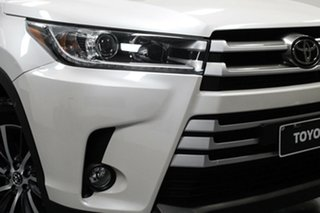 2019 Toyota Kluger GSU50R GXL 2WD White 8 Speed Sports Automatic Wagon.