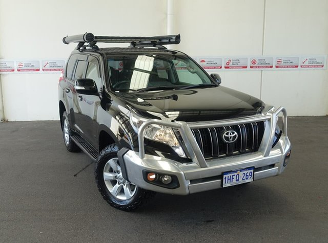 Pre-Owned Toyota Landcruiser Prado GDJ150R MY16 GXL (4x4) Rockingham, 2016 Toyota Landcruiser Prado GDJ150R MY16 GXL (4x4) Ebony 6 Speed Automatic Wagon