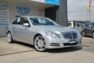 2012 Mercedes-Benz E220 212 MY12 CDI Elegance Silver 5 Speed Automatic Sedan.