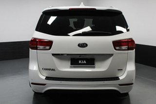 2016 Kia Carnival YP MY17 SLi White 6 Speed Sports Automatic Wagon