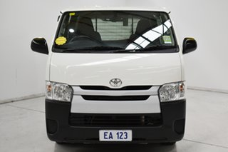2017 Toyota HiAce KDH201R LWB French Vanilla 4 Speed Automatic Van.