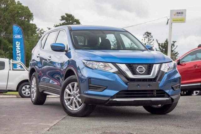 Used Nissan X-Trail T32 Series II ST X-tronic 2WD Gympie, 2019 Nissan X-Trail T32 Series II ST X-tronic 2WD Marine Blue 7 Speed Constant Variable Wagon