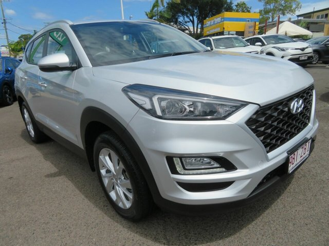 Used Hyundai Tucson TL3 MY19 Active X 2WD Mount Gravatt, 2019 Hyundai Tucson TL3 MY19 Active X 2WD Silver 6 Speed Automatic Wagon