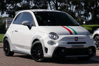 2020 Abarth 695 Series 4 70 Anniversario White 5 Speed Manual Hatchback.
