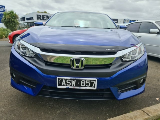 Used Honda Civic 10th Gen MY17 VTi-S Warrnambool East, 2017 Honda Civic 10th Gen MY17 VTi-S Blue 1 Speed Constant Variable Sedan
