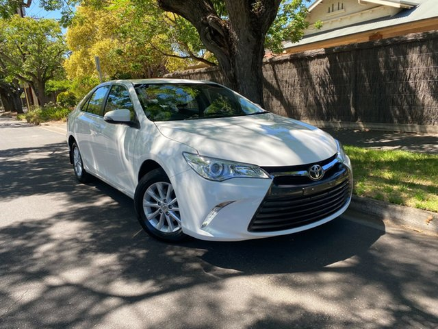 Used Toyota Camry ASV50R Altise Hawthorn, 2017 Toyota Camry ASV50R Altise White 6 Speed Sports Automatic Sedan