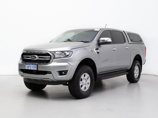 2019 Ford Ranger PX MkIII MY19 XLT 3.2 (4x4) Silver 6 Speed Automatic Double Cab Pick Up.